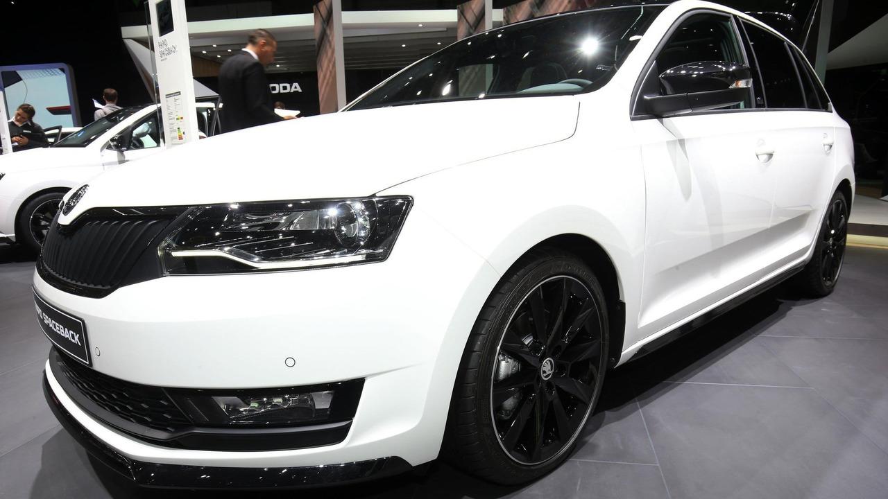Skoda Rapid Facelift Revealed With Bi Xenon Headlights 1