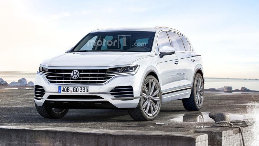 Projeção - Volkswagen Touareg 2018 será Arteon em formato de SUV