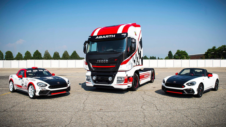 Iveco Truck Team Abarth Scorpion Sponsorship