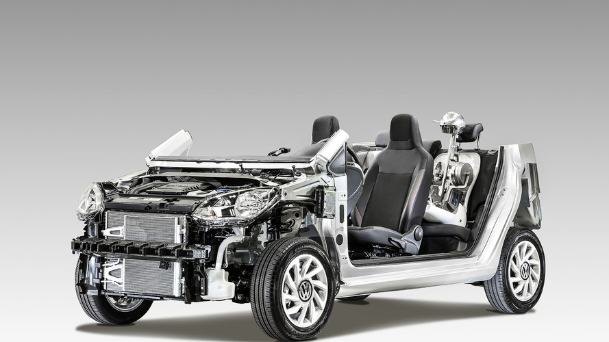 Volkswagen exibe estrutura do up! para reforçar pontos positivos do projeto