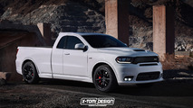 Dodge Durango SRT Pickup Rendering