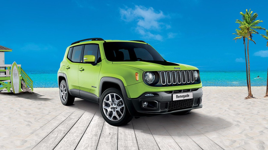 Jeep Renegade - une série spéciale South Beach Edition