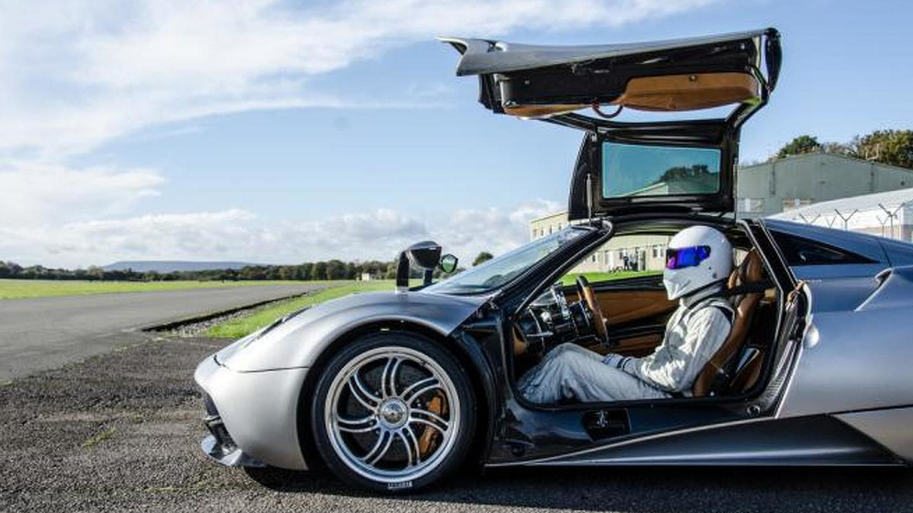 Pagani Huayra with Stig from Top Gear