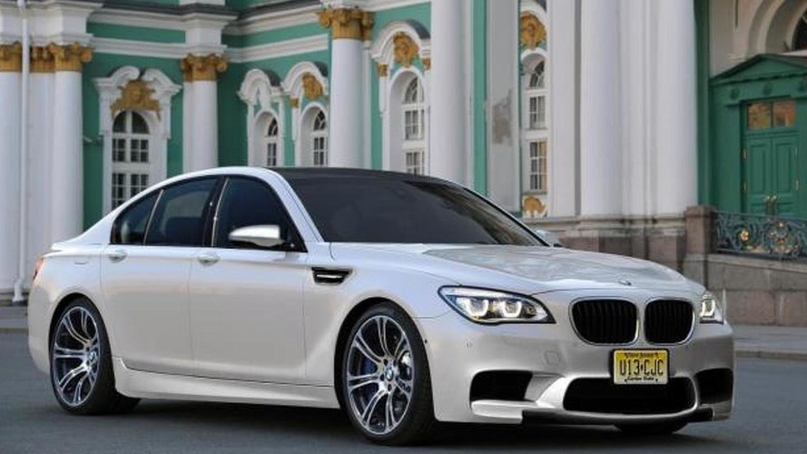BMW M7 digitally imagined