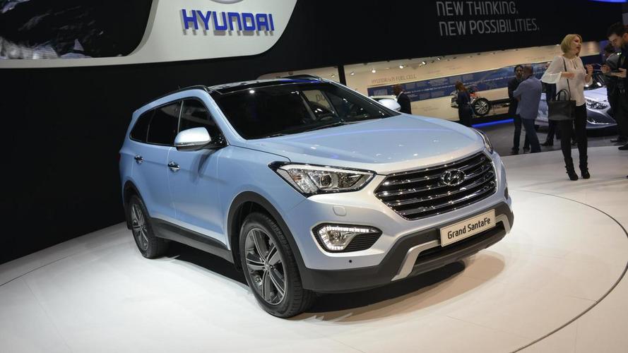 2013 Hyundai Grand Santa Fe seven-seater arrives in Geneva