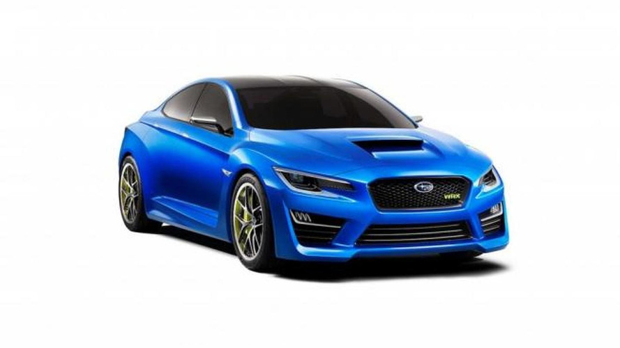 2016 Subaru Impreza could borrow cues from the WRX concept - report