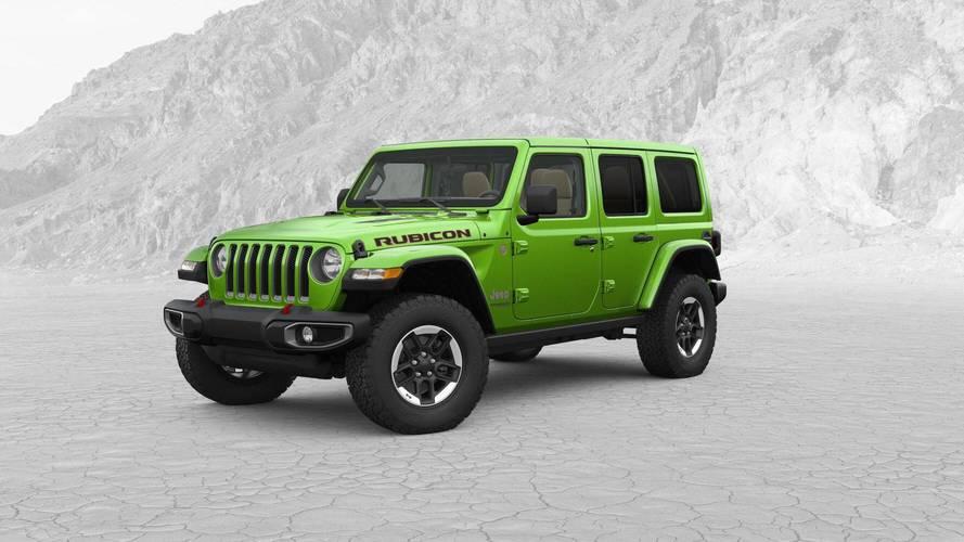Jeep 4x4 2017 >> 2018 Jeep Wrangler Configurator | Motor1.com Photos