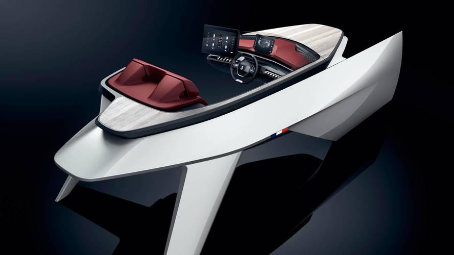 Peugeot's Latest Concept Is Seaworthy