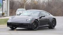 Next-Gen Porsche 911 Interior Spy Photos