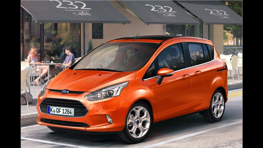 Fords neuer Minivan startet im Herbst 2012