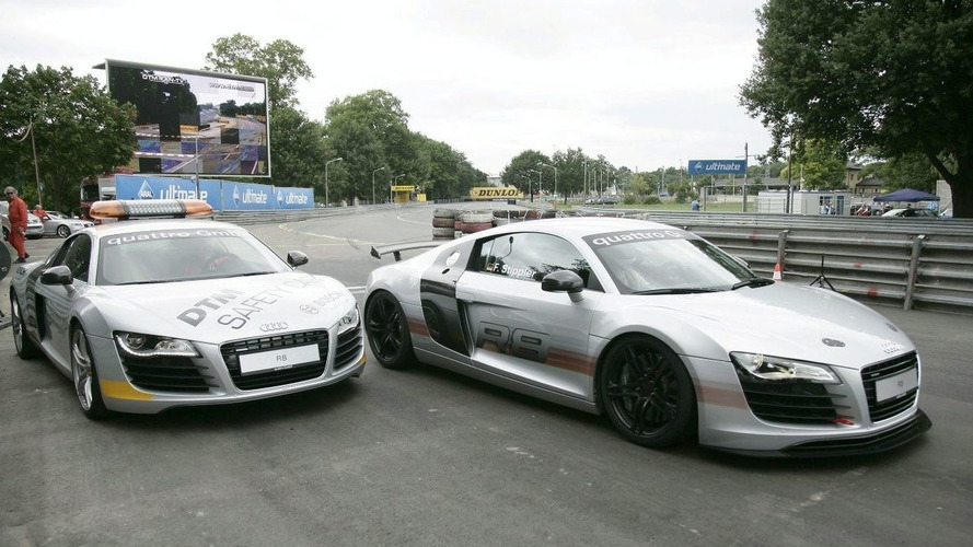 Audi R8 is the Official DTM Safety Car
