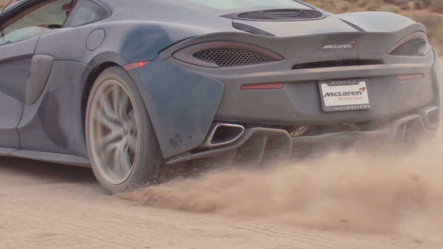 Watch These McLaren 570GTs Go Full Rally For A Back Roads Review