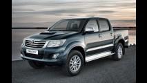 Toyota Hilux 2012 custará o equivalente a R$ 40.700 no Reino Unido