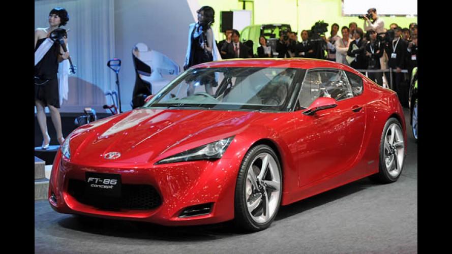Toyota promete lançar esportivo FT-86 oficialmente em dezembro