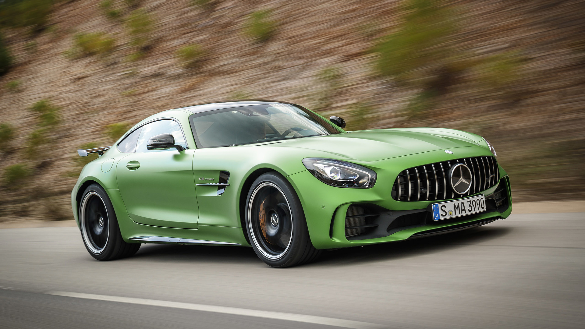 2018 mercedes amg gt r first drive the green monster of for Mercedes benz amg gt price