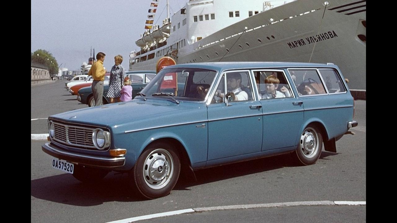 Volvo Série 140: 1º sucesso internacional da marca comemora o 50º aniversário