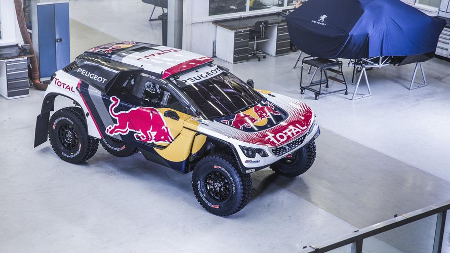 Carro da Peugeot no Rali Dakar 2017, 3008 DKR estreia novo visual