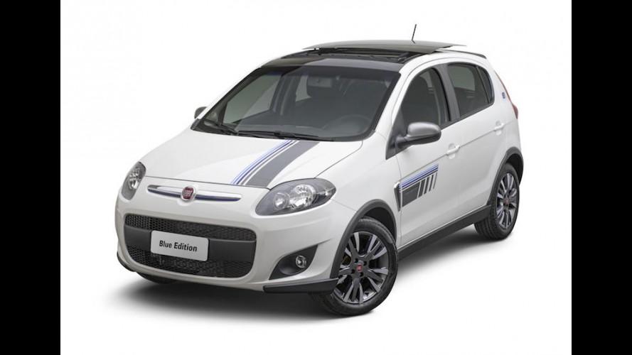 Fiat lança série Blue Edition para Uno e Palio Sporting
