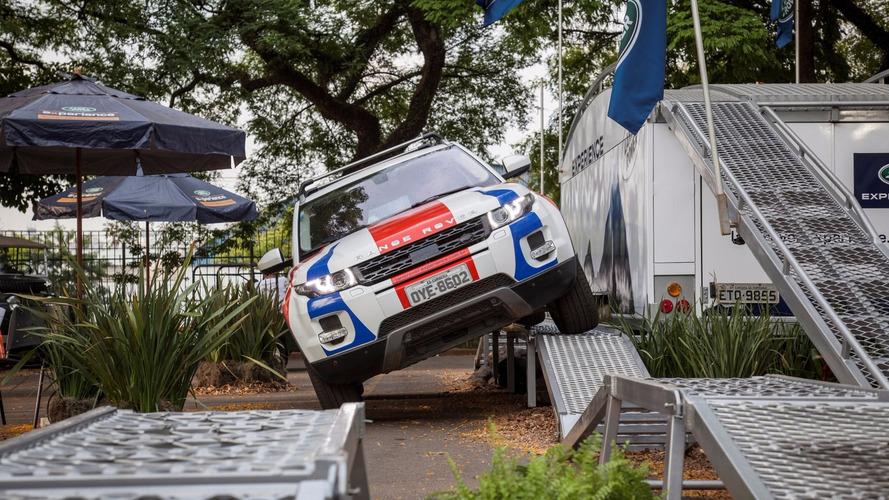 Land Rover fará circuito off-road especial para visitantes no Salão do Automóvel