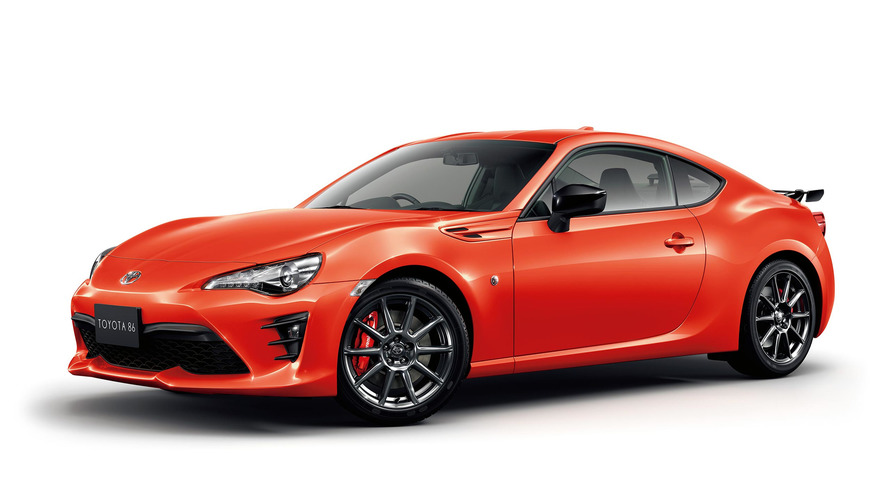 Orange Toyota 86 performance edition is ready to peel out in Japan