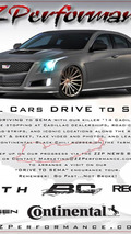 ZZ Performance Cadillac ATS for SEMA