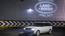 6th millionth Land Rover