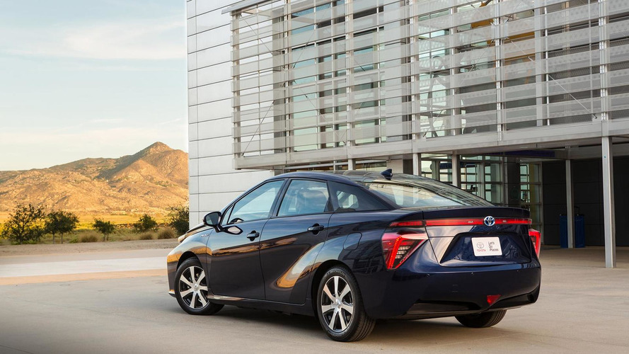 Toyota claims exhaust water from Mirai safer than milk