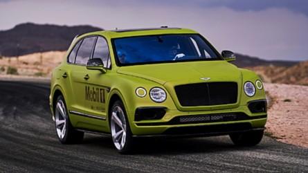Szinte széria: ezzel a Bentaygával indul a Bentley a Pikes Peaken