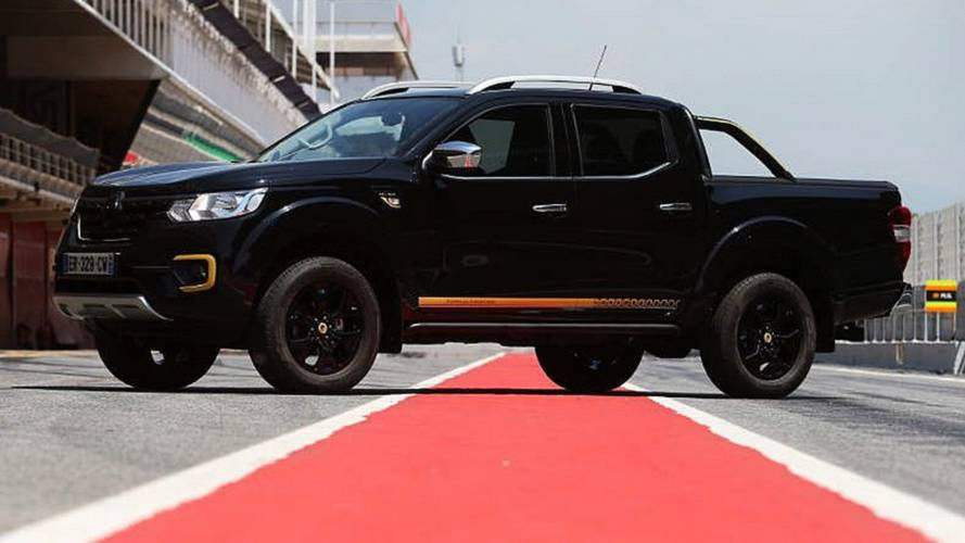 Renault Alaskan Formula Edition Is An F1-Themed Pickup Truck