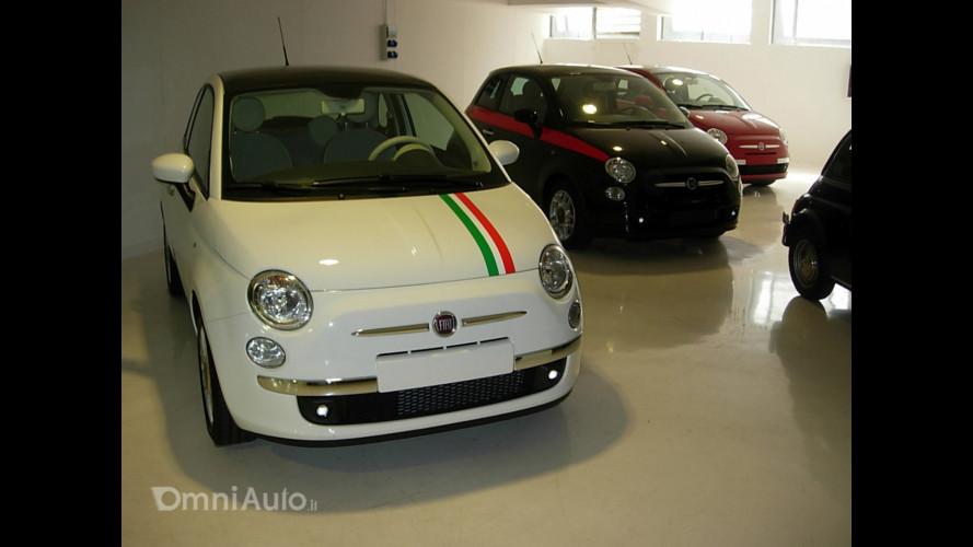 La Fiat 500… in concessionaria