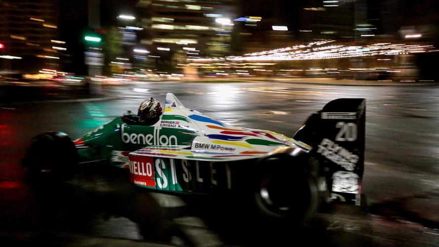 Des F1 dans le centre d'Adélaïde