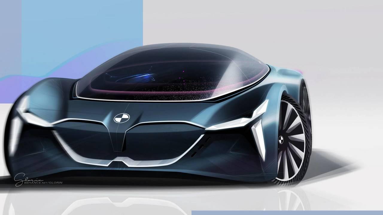 BMW Vision Grand Tourer by Glorin Tsiourea