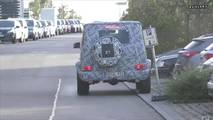 Mercedes-Benz G63 Spy Video