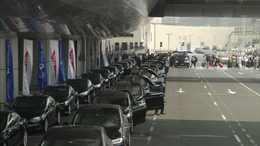 Dubai Officially Deploys Tesla Model S, X Taxi Fleet