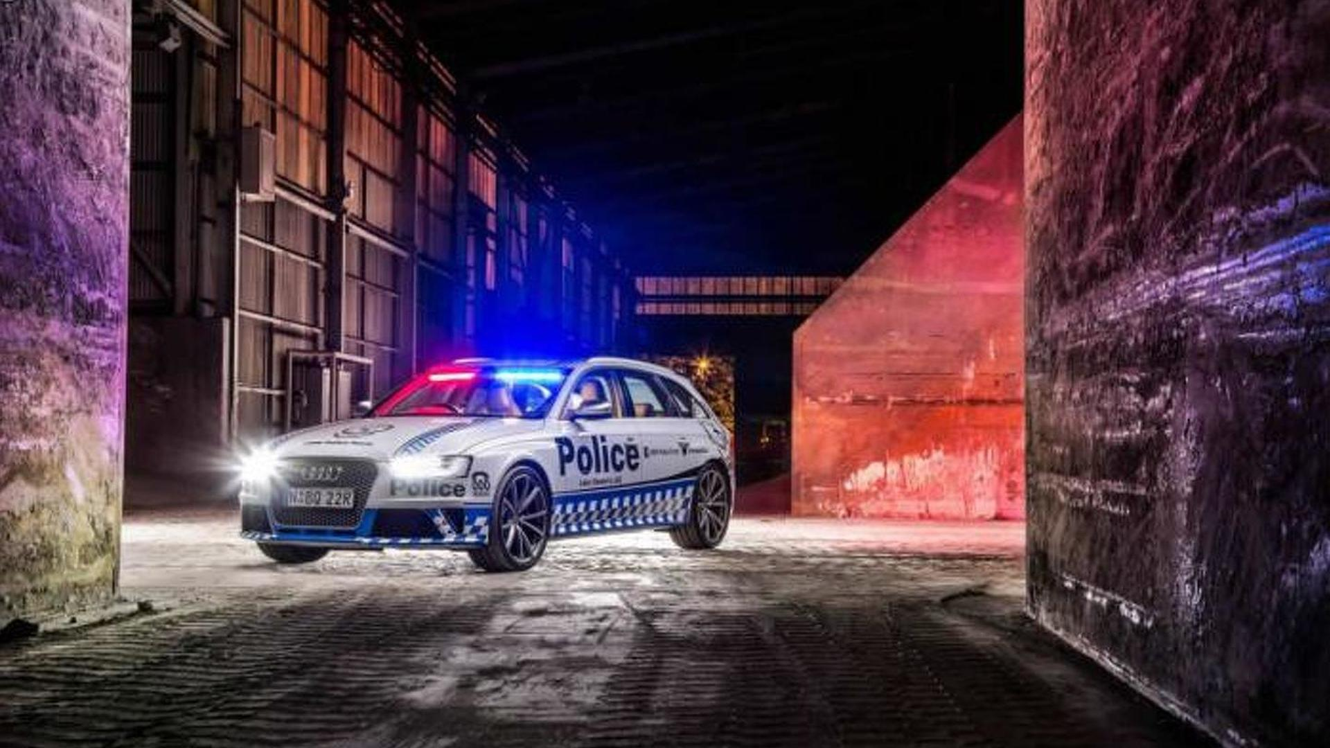Audi RS4 Avant to perform police car duties for New South Wales