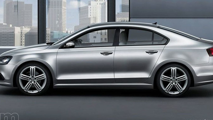 VW NCC Concept Previews Near Production MKVI Jetta Coupe/Sedan