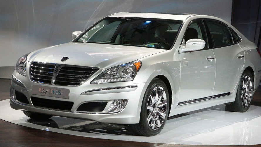 Hyundai Equus Unveiled in New York
