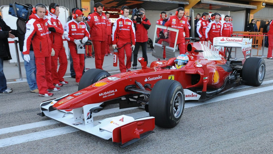 New Ferrari better than 2009 Renault - Alonso