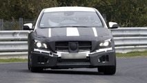 Mercedes CLA45 AMG spy photo 19.10.2012