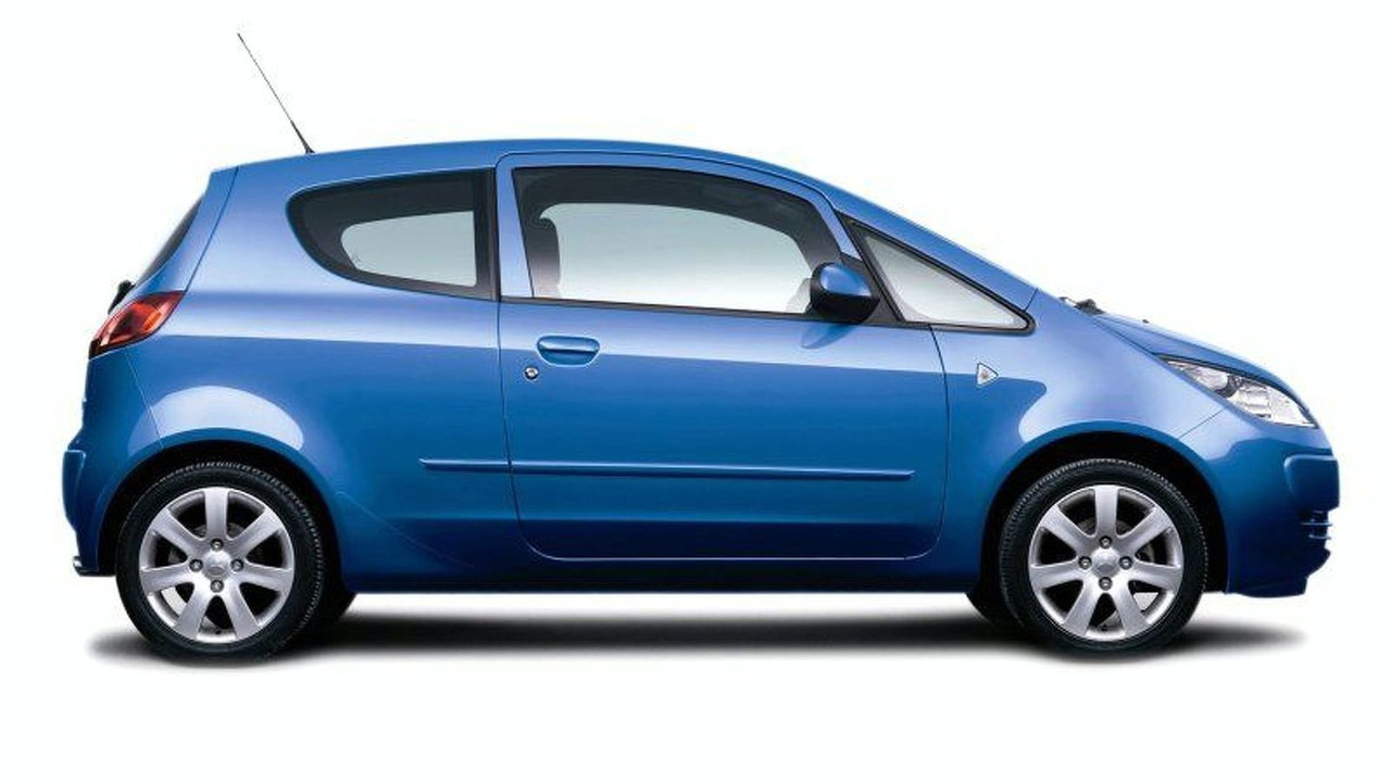 Mitsubishi Colt Blue (UK)