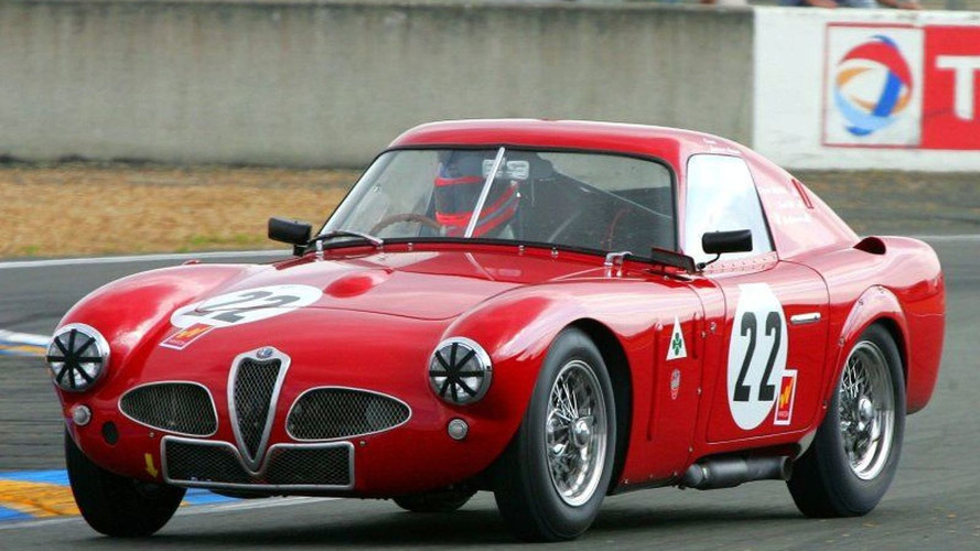 Rare Historic Cars Gather At Le Mans