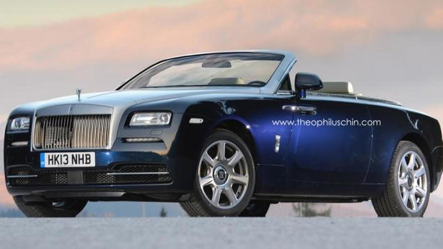 Rolls-Royce Wraith Drophead Coupe confirmed for 2015 launch