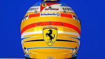 Fernando Alonso helmet 2014