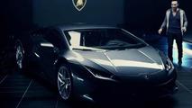 Lamborghini Huracan LP 610-4 first official video screenshot