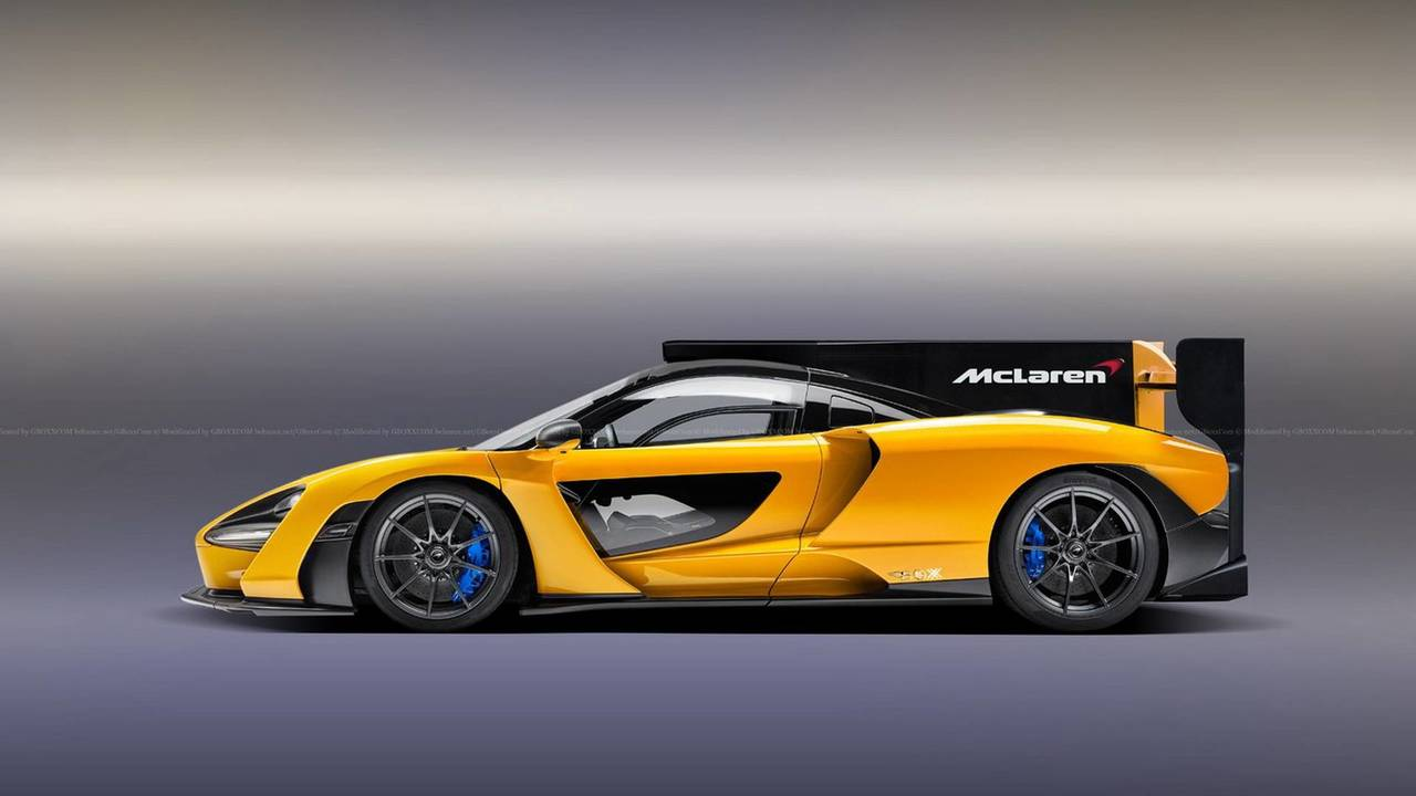 Used Car Usa >> McLaren Senna Speedster, LMP Race Car Digitally Imagined