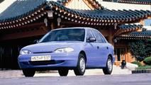 1994-1996 Hyundai Accent Sedan