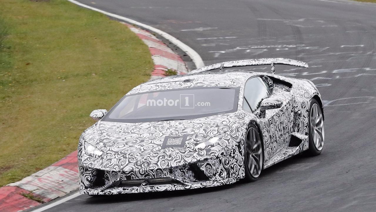2018 Lamborghini Huracan Superleggera casus fotoğrafları
