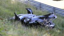 Koenigsegg One:1 Nürburgring'de kaza yaptı