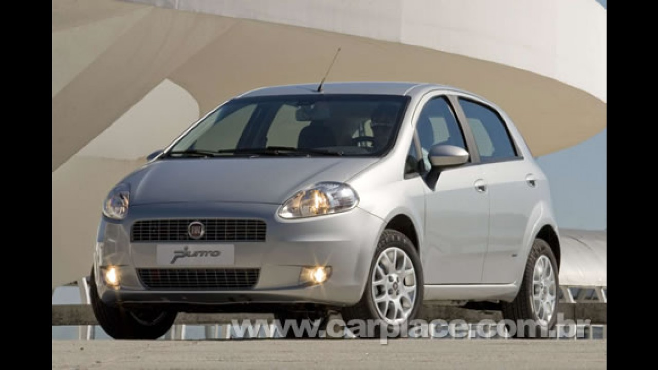 Fiat Punto 2009 chega com poucas novidades - Strada Fire 2009 não muda