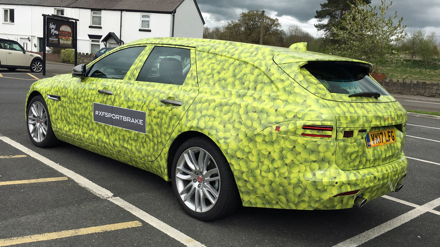 New Jaguar XF Sportbrake Spotted On U.K. Roads